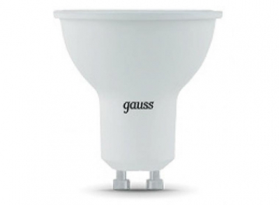 Лампа Gauss LED MR16 GU10 7W 4100K 1/10/100