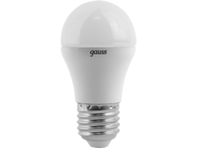 Лампа Gauss LED Globe E27 6.5W 100-240V 2700K 1/10/50