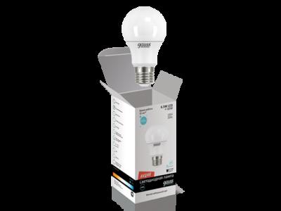 Лампа Gauss  A60 6.5W 220-240V 4100K E27